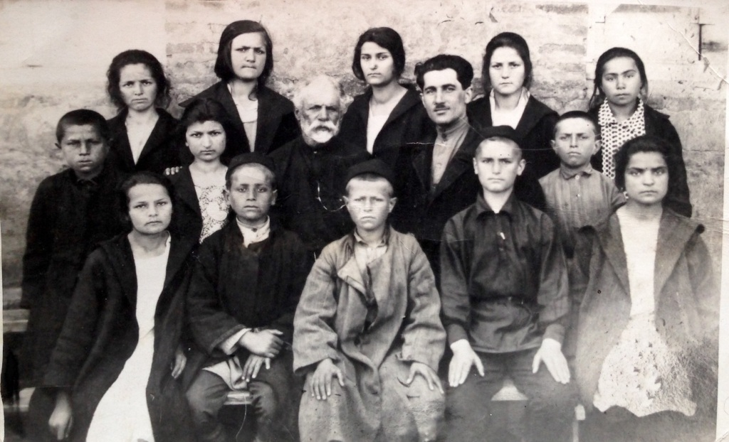 Ukrainian and Georgian orphans from the early 1930's